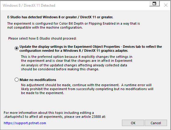 INFO: Windows 8 or DirectX 11 or greater detected [23888] – PST
